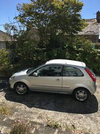 Ford Fiesta Ghia *Low Mileage - 30K* MOT to May 2018* Just serviced* FSH* Leather seats*Petrol*