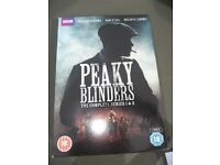 Peaky Blinders Series 1 & 2 DVDs. For collection in Romford, Essex - £5.00