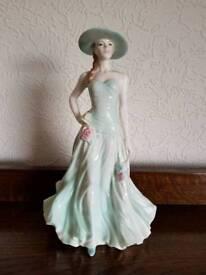 "Royal Worcester Figurine ""Serena"""