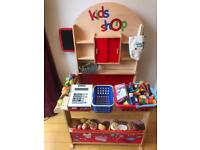 Children's Wooden Play Shop + Lots of accessories!!