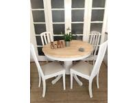 SOLID PINE TABLE AND CHAIRS FREE DELIVERY LDN🇬🇧