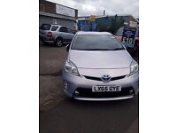 PCO Rent TOYOTA PRIUS 2013 Plate £120 p/w east london PCO APPROVED CAR FOR HIRE