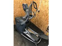 Gym equipment crosstrainer and power vibrating plate