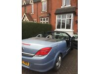 Vauxhall Astra twin top 1.6 cheapest convertible to insure