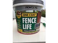 RONSEAL ONE COAT- SEALED