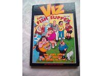 Viz comic hardbacked book The fish supper annual issues 43-47 funny cartoon art