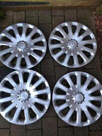 Ford Fiesta wheel trims x4, 15 inch