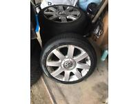 Mk5 golf alloy wheels 5x112