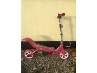 Children's pink Space Scooter Age 8years +