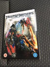 Transformers Dark of the Moon DVD New Sealed