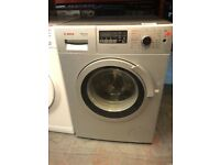 SILVER BOSCH WASHER DRYER