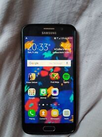 Samsung S6 perfect working order. With case and charger