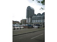 Double room in a duplex penthouse flat in a landmark building with dock view – Bills included