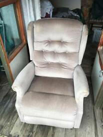 No electric reclining chair