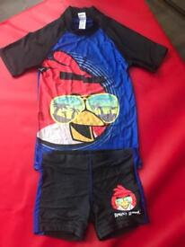 Angry Birds Swimming 2 Piece set
