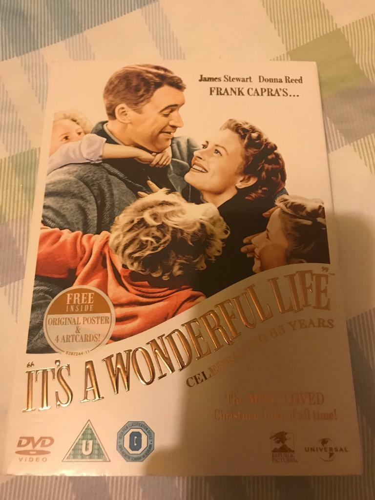 It's a wonderful life special DVD with free poster. As new