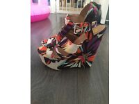 Never Worn Wedges River Island Size 7
