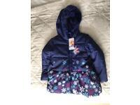 Brand new Girls 'Frozen' coat