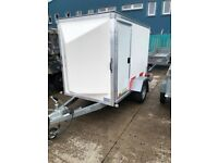 Blueline box trailer as new 7 x 4 x 5