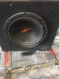 Kenwood xl series base speaker