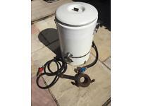 Burco boiler + gas ring