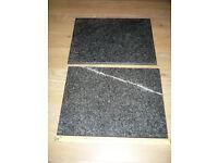2 x Granite Chopping boards