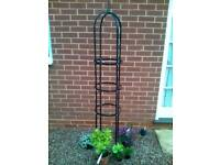 Garden obelisk suitable for climbing plants etc