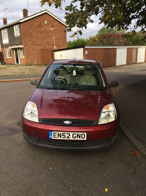 Low mileage Ford Fiesta - Good Value