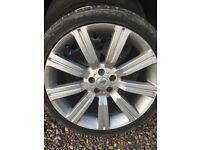 Range Rover vogue alloys & tyres 22inch