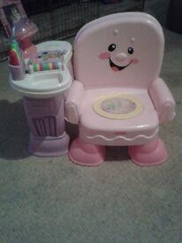 Girls Fisher Price Chair