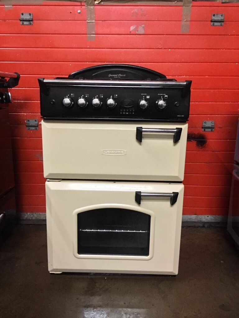 leisure gas cooker gr6gvcp 60cm cream fsd double oven 3 Instruction Manual Book Operators Manual