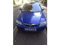 Mazda 323f gxi good condition (2003) perfect running long mot bargain £295