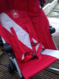 Almost brand new Maclaren Triumph stroller/ buggy - rain cover has never even been used. BARGAIN!
