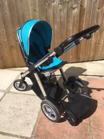 Oyster max tandem pushchair & buggy board
