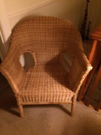 Good condition - natural Wicker Chair