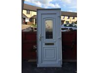 UPVC front door. Great condition, one year old.