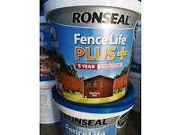 Fence paint /fence life