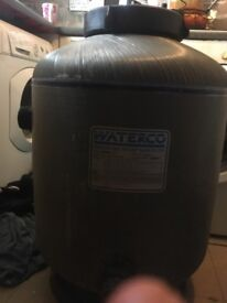 Waterco micron side mount bead filter for fish ponds, working and in great condition
