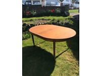 G plan dining table