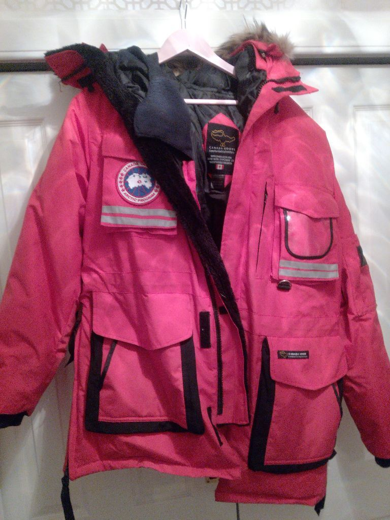 Canada Goose' snow mantra used