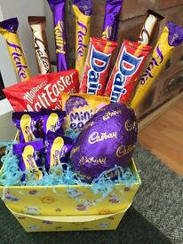 Sweet and chocolate bouquet perfect gift for Easter