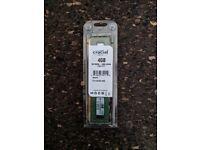Crucial 4GB DDR3L-1600 UDIMM (CT51264BD160B) - Memory - RAM
