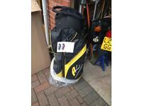 Powerkaddy bag brand new, wrapped and boxed. . Dry bag black and gold