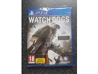 PS4 Watch Dogs Game - New & Unused