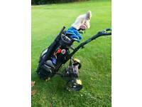 Powerbug electric power golf trolley