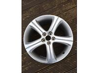 """Peugeot 18"""" alloy wheel - perfect condition"""