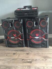 LG DJ SYSTEM