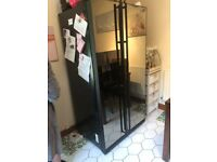 samsung american mirror'd fridge freezer with ice dispenser spares or repair