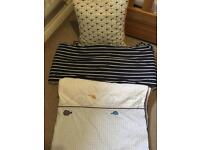 Mothercare Whale Bay Bedding Collection and Accessories