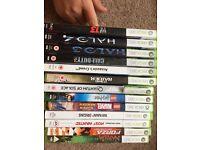 13 Xbox 360 games various